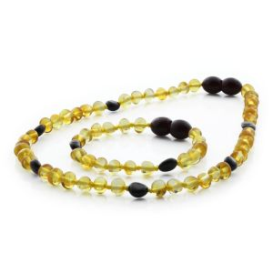 BALTIC AMBER SET FOR KIDS. LIMITED EDITION. BE172