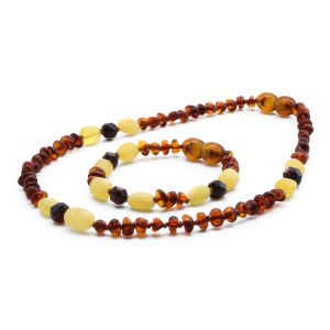 BALTIC AMBER SET FOR KIDS. LIMITED EDITION. BE182