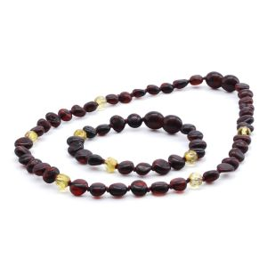 BALTIC AMBER SET FOR KIDS. LIMITED EDITION. LE370