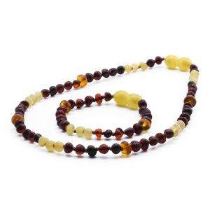 BALTIC AMBER SET FOR KIDS. LIMITED EDITION. LE367