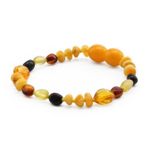 BALTIC AMBER TEETHING BRACELET. LIMITED EDITION. CE139