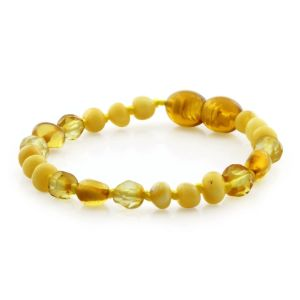 BALTIC AMBER TEETHING BRACELET. LIMITED EDITION. LE40