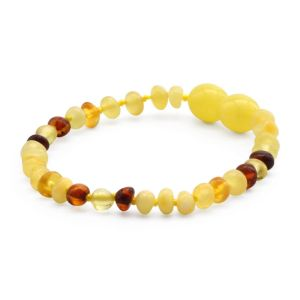 BALTIC AMBER TEETHING BRACELET. LIMITED EDITION. LE393