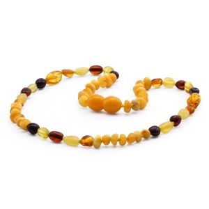 BALTIC AMBER TEETHING NECKLACE. LIMITED EDITION. CE139