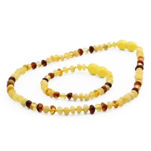 BALTIC AMBER SET FOR KIDS. LIMITED EDITION. LE393