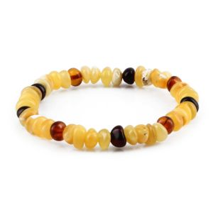 ADULT BALTIC AMBER BRACELET. LIMITED EDITION. XLS1