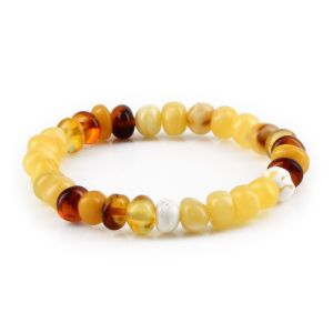 ADULT BALTIC AMBER BRACELET. LIMITED EDITION. XLS2