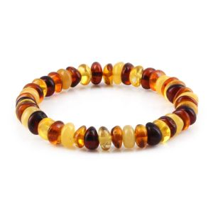 ADULT BALTIC AMBER BRACELET. LIMITED EDITION. XLS3