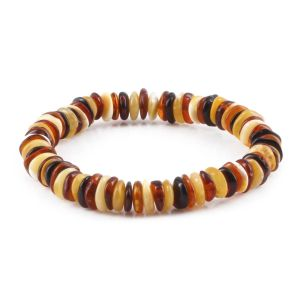 ADULT BALTIC AMBER BRACELET. LIMITED EDITION. XLS4