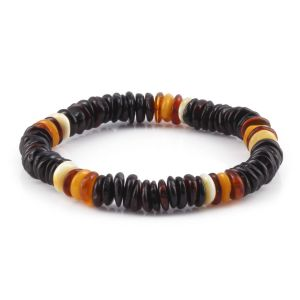 ADULT BALTIC AMBER BRACELET. LIMITED EDITION. XLS5