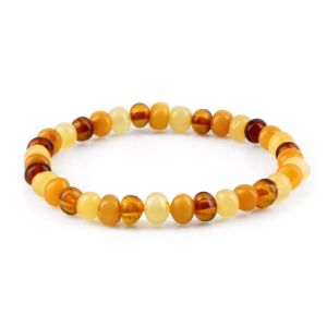 ADULT BALTIC AMBER BRACELET. LIMITED EDITION. BBE72