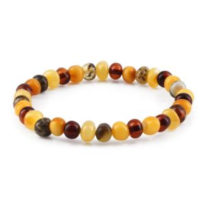 ADULT BALTIC AMBER BRACELET. LIMITED EDITION. BBE73
