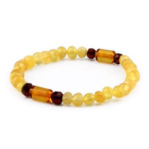ADULT BALTIC AMBER BRACELET. LIMITED EDITION. XLS6