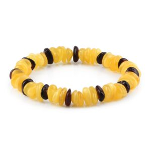 ADULT BALTIC AMBER BRACELET. LIMITED EDITION. XLS7