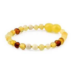 BALTIC AMBER TEETHING BRACELET. LIMITED EDITION. XLE8