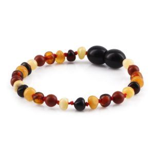 BALTIC AMBER TEETHING BRACELET. LIMITED EDITION. XLE10