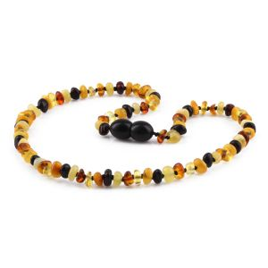 BALTIC AMBER TEETHING NECKLACE. LIMITED EDITION. AS75