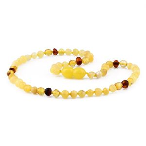 BALTIC AMBER TEETHING NECKLACE. LIMITED EDITION. XLE8