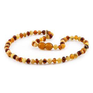 BALTIC AMBER TEETHING NECKLACE. LIMITED EDITION. BE229