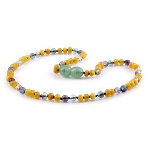 BALTIC AMBER TEETHING NECKLACE. LIMITED EDITION. LE444