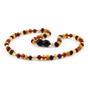 BALTIC AMBER TEETHING NECKLACE. LIMITED EDITION. XLE10
