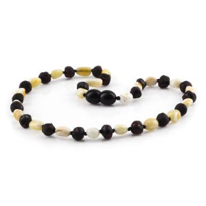 BALTIC AMBER TEETHING NECKLACE. LIMITED EDITION. XLE11
