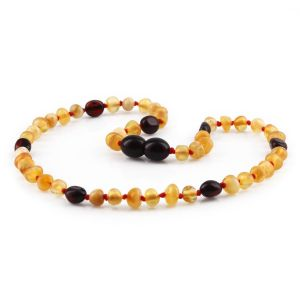BALTIC AMBER TEETHING NECKLACE. LIMITED EDITION. XLE12