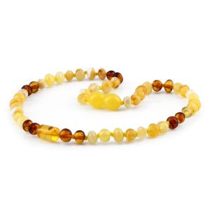 BALTIC AMBER TEETHING NECKLACE. LIMITED EDITION. XLE13