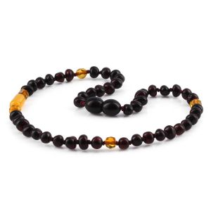 BALTIC AMBER TEETHING NECKLACE. LIMITED EDITION. XLE14