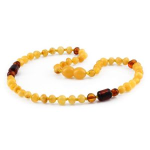 BALTIC AMBER TEETHING NECKLACE. LIMITED EDITION. XLE15