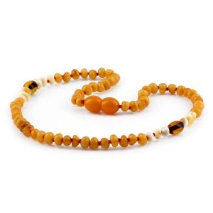 BALTIC AMBER TEETHING NECKLACE. LIMITED EDITION. XLE17