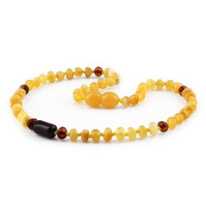 BALTIC AMBER TEETHING NECKLACE. LIMITED EDITION. XLE18