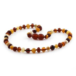 BALTIC AMBER TEETHING NECKLACE. LIMITED EDITION. XLE19