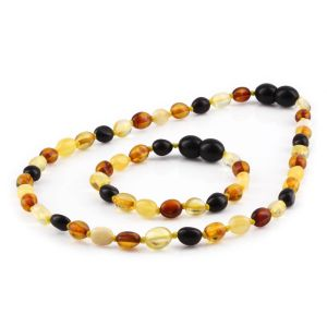 BALTIC AMBER SET FOR KIDS. OLIVE. XO54M2Y