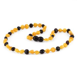 NATURAL BALTIC AMBER JUNIOR NECKLACE. BJN33