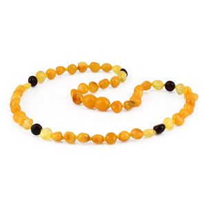 NATURAL BALTIC AMBER JUNIOR NECKLACE. JN64