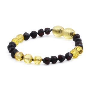 BALTIC AMBER TEETHING BRACELET. LIMITED EDITION. LE386