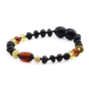 BALTIC AMBER TEETHING BRACELET. LIMITED EDITION. LE390
