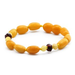 BALTIC AMBER BRACELET FOR KIDS. LIMITED EDITION. BE194