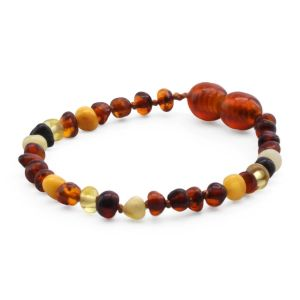 BALTIC AMBER BRACELET FOR KIDS. LIMITED EDITION. LE392