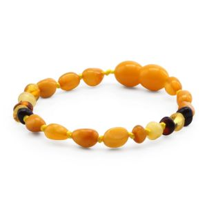 BALTIC AMBER BRACELET FOR KIDS. LIMITED EDITION. LE396