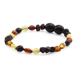 BALTIC AMBER BRACELET FOR KIDS. LIMITED EDITION. LE401