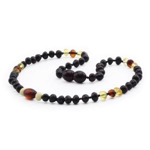 BALTIC AMBER TEETHING NECKLACE. LIMITED EDITION. LE390