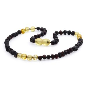 BALTIC AMBER TEETHING NECKLACE. LIMITED EDITION. LE386