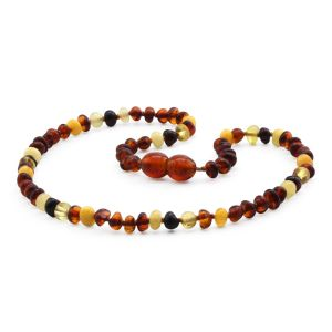 BALTIC AMBER TEETHING NECKLACE. LIMITED EDITION. LE392