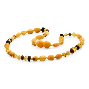 BALTIC AMBER TEETHING NECKLACE. LIMITED EDITION. LE396
