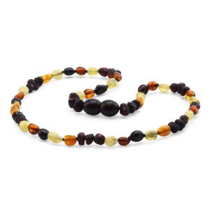 BALTIC AMBER TEETHING NECKLACE. LIMITED EDITION. LE401