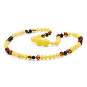 BALTIC AMBER TEETHING NECKLACE. LIMITED EDITION. BE197