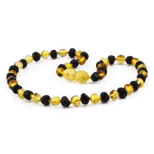 BALTIC AMBER TEETHING NECKLACE. LIMITED EDITION. BE201