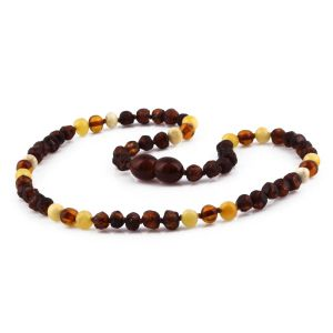 BALTIC AMBER TEETHING NECKLACE. LIMITED EDITION. CE141
